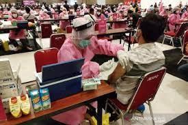 Dinkes Pemerintah Kota Bogor Vaksinasi Massal 10.500 Orang